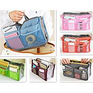 내 쉽게 가방 핸드백 주최자 지갑 큰 라이너 주최자 깔끔한 가방 파우치 (임의의 색)