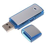 2in 1 mini audio hangrögzítő USB flash drive építeni 8GB memória 10hours felvételi idő