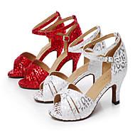 Na zakázku - Dámské - Taneční boty - Latina - Semiš - Jehlový podpatek - Ostatní