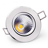 6W Stropní světla Zápustná COB 400-500 lm Teplá bílá / Chladná bílá Stmívací AC 220-240 V 5 ks