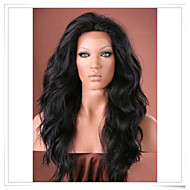 """12""""-22"""" Synthetic Lace Front Natural Wave Wigs Photo Color #1B Length 22inch Heat Friendly LFS002"""
