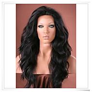 "12 ""-22"" onda natural del frente del cordón sintético pelucas color de la foto # longitud 1b lfs002 agradable calor 22inch"