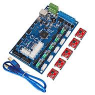 """""""קיס ח""""כים לוח הבקרה של מדפסת 3D v1.2 gen, קו USB (a4988)"""""""