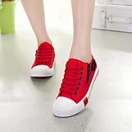 Ženske cipele - Modne tenisice - Ležerne prilike - Tkanina - Ravna potpetica -Udobne cipele / Zaobljene cipele / Cipele zatvorenih