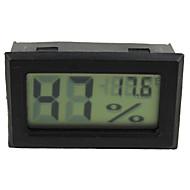 טמפרטורת לחות טמפרטורה מוטבעת אלקטרונית דיגיטלית ומד לחות