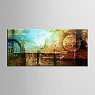 Ručně malované Zátiší / FantazieModerní Jeden panel Plátno Hang-malované olejomalba For Home dekorace