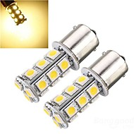 2 x 1156 BA15S 5050 18SMD DC12V P21W Backup Reverse Light Bulbs