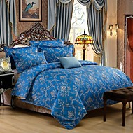 Blue Polyester King Duvet Cover Sets
