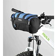 Bicicleta Guidão Bolsa ( Cinzento/Azul Escuro , Póliester 600D , 6 L)  Insulação de Calor Esportes de Lazer/Ciclismo