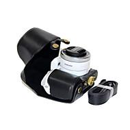 dengpin® PU kůže olej pokožku odnímatelný kryt kamera pouzdro taška pro Samsung nx500 s 16-50 milimetry čočky (barvách)