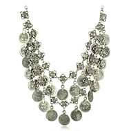 Europe and The United States Multilayer Numismatics Tassel Necklaces