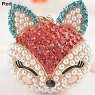 Ej personlig - Nyckelband ( Röd/Rosa