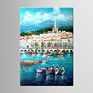 Oil Painting Hand Painted Canvas with Stretched Framed