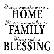 Having Somewhere To Go Home Decor Quote Wall Decal Zooyoo8040 Decorative  Removable Vinyl Wall Sticker