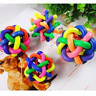 Zabawka dla kota Zabawka dla psa Zabawki dla zwierząt Owalne Piłka Nobbly Wobbly Gumowy