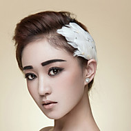 Women's Feather Headpiece - Wedding/Special Occasion/Casual/Outdoor Tiaras/Hair Pin/Flowers/Head Chain 1 Piece