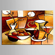 Oil Painting Decorative Modern Abstract Hand Painted Canvas with Stretched Framed