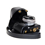 dengpin pu macchina fotografica del cuoio della copertura del sacchetto della cassa per Sony Ilce-6000L a6000 ILCE-6000 con lente 16-50mm