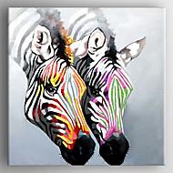 Ręcznie malowane ZwierzęNowoczesny Jeden panel Płótno Hang-Malowane obraz olejny For Dekoracja domowa