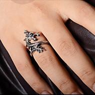 Prstenje Party / Dnevno / Kauzalni Jewelry Legura Muškarci Prstenje sa stavom 1pc,7 Zlatna / Srebrna