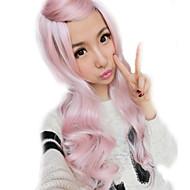 lolita sex producten roze pruiken regenboog synthetisch pony krullend haar pruiken ombre pruik goedkoop anime cosplay pruiken