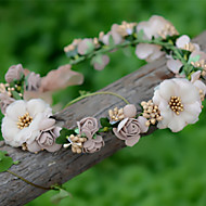 Donne Vimini Copricapo-Matrimonio / Occasioni speciali / Casual / All'aperto Ghirlande di fiori 1 pezzo