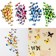 Animais / 3D Wall Stickers Autocolantes 3D para Parede Autocolantes de Parede Decorativos / Autocolantes de Frigorífico,PVC Material
