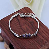 925 Sterling Silver Diamond Korean high-grade wedding Ladies Bracelet