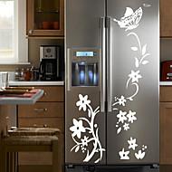 מדבקות קיר קיר PVC קש פרח מדבקות סגנון מדבקות קיר