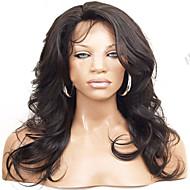 8a brasilianisches Haar-volle Spitze-Menschenhaarperücken brasilianische Körperwelle Spitzefrontseite Perücke-glueless volle Spitzeperücke