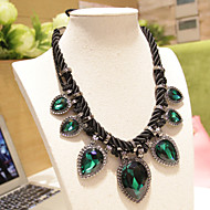 XIXI Women's The Newest Fashion Casual Gold Plated/Rhinestone/Imitation Pearl Statement