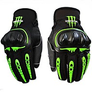 Summer Motorcycle/Racing/Riding Drop Resistance Ghost Gloves Full Finger Nylon/Mesh/EVA M/L/XL/XXL Red/Black/Blue