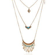 BL The New Vintage / Cute / Party / Work / Casual Alloy / Rhinestone Layered Necklaces