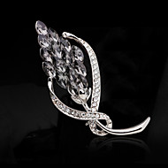 Women's Alloy Fashion Wedding/Party Brooches & Pins With Rhinestone