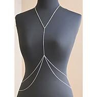 dámská móda sexy bikiny letní double tělo řetěz