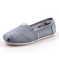 Women's/Men's/Lovers' Shoes Office & Career/Athletic/Casual Canvas Loafers Black/Blue/Green/Red/White/Gray/Khaki
