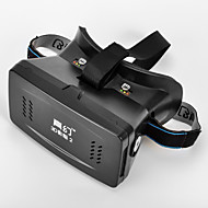 "RIEM 2 Universal Virtual Reality 3D and Video Glasses for 3.5''-6""Smartphones-Black (Second Generation)"