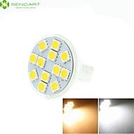 MR11 GZ4 GU4 G4 6.5W Warm / Cool White / Warm White 12 x 5060SMD LED 450-550LM Light Led Bulb (AC/DC10-30V)