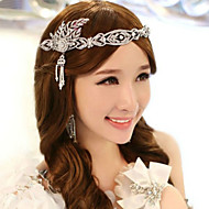 Women Crystal/Alloy Tiaras With Crystal Wedding/Party Headpiece