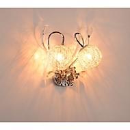 Seinälampetit Kristalli/LED/Lamppu sisältyy hintaan Moderni Metalli