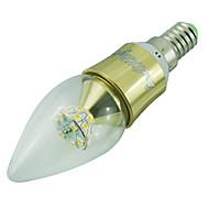 5W E14 נורות נר לד C35 25 SMD 2835 500 lm לבן חם דקורטיבי AC 85-265 / AC 220-240 / AC 100-240 / AC 110-130 V חלק 1
