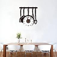 DIY Creative Kitchenware Wall Clock