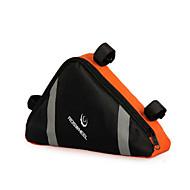 Bike Bag 10-20LLFahrradrahmentasche Wasserdicht / Reflexstreifen / tragbar Fahrradtasche Nylon Fahrradtasche Radsport 23*20*6cm