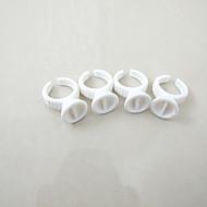 100db / csomó kis festék csésze gyűrűt tartós smink szemöldök ajak gyűrűk műanyag festék pohártartó dupla csésze