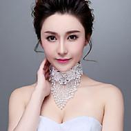 Collier Anniversaire/Mariage/Engagement/Cadeau/Sorée/Occasion spéciale/Outdoor Cristal Strass/Imitation de perle Femme