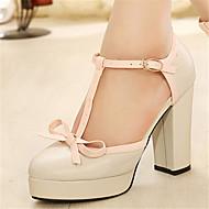 Women's Shoes Rubber Platform Platform Pumps/Heels Casual Beige