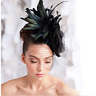 Hand Made Wedding Feather Hair Fascinator Headpieces Fascinators 003
