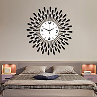 "24""Modern Water-drop Pattern Iron Wall Clock"