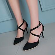 Women's Shoes  Stiletto Heel Heels/Pointed Toe Pumps/Heels Office & Career/Dress Black/Blue/Pink/Red/Gray