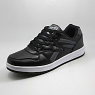 Running Shoes Indoor Court Men's Shoes Leatherette Black/White